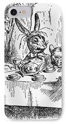 Alice In Wonderland IPhone Case by Photo Researchers, Inc.