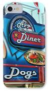 Al's All American Diner IPhone Case