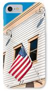American Flag IPhone Case by Tom Gowanlock