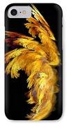 Angel Wings 1 IPhone Case by Kim Sy Ok