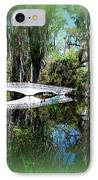 Another White Bridge In Magnolia Gardens Charleston Sc II IPhone Case