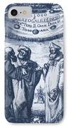 Aristotle, Ptolemy And Copernicus IPhone Case