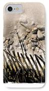 Art In The Sand Series 2 IPhone Case by Bob Salo