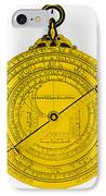 Astrolabe IPhone Case by Omikron