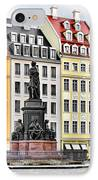 Augustus II The Strong -  A Legend Lives On In Dresden IPhone Case by Christine Till