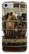 Automatic Milking Machine IPhone Case by Photostock-israel