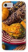 Autumn Basket  IPhone Case by Garry Gay