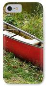 Autumn Canoe IPhone Case by Thomas R Fletcher