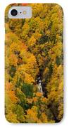 Autumn Colour And Waterfalls, Cape IPhone Case by John Sylvester