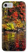 Autumn Forest And River Landscape IPhone Case