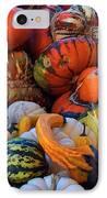 Autumn Harvest IPhone Case by Carol Cavalaris
