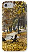 Autumn Park In Toronto IPhone Case by Elena Elisseeva