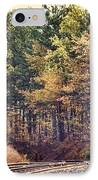 Autumn Railroad IPhone Case