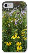 Autumn Wildflowers - D007762 IPhone Case by Daniel Dempster