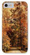 Autumn's Entrance IPhone Case by Jai Johnson