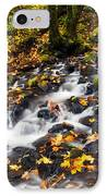 Autumn's Staircase IPhone Case by Mike  Dawson