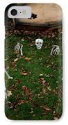 Back Yard Bone Yard IPhone Case by LeeAnn McLaneGoetz McLaneGoetzStudioLLCcom