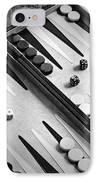 Backgammon IPhone Case by Joana Kruse