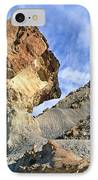 Balancing Rock Caused By Water Erosion IPhone Case by G. Brad Lewis