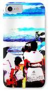 Balinese Beach Funeral  IPhone Case