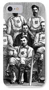 Baseball: Canada, 1874 IPhone Case by Granger