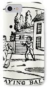 Baseball Game, 1820 IPhone Case by Granger