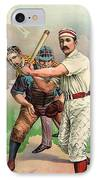 Baseball Player, C1895 IPhone Case
