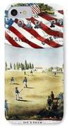 Baseball Song Sheet, 1860 IPhone Case