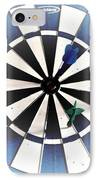 Basement Darts IPhone Case by Jackie Bodnar