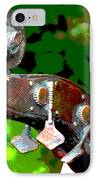 Bass Fiddle IPhone Case