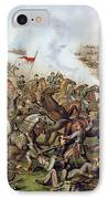 Battle Of Five Forks Virginia 1st April 1865 IPhone Case by American School