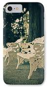 Benches IPhone Case by Joana Kruse