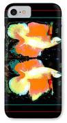 Betta Splendens X2 IPhone Case