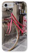 Bicycles Parked In The Street IPhone Case