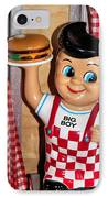 Big Boy IPhone Case by Kristin Elmquist