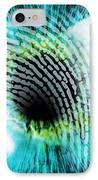 Biometric Identification IPhone Case by Pasieka
