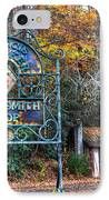 Blacksmith Shop IPhone Case by Debra and Dave Vanderlaan