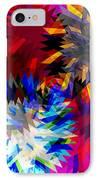 Blade In Pink IPhone Case by Atiketta Sangasaeng