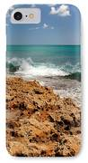 Blowing Rocks Jupiter Island Florida IPhone Case by Michelle Wiarda