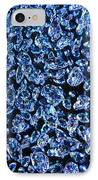 Blue ... IPhone Case by Juergen Weiss