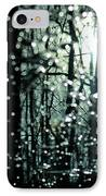 Blue Burns The Twilight IPhone Case by Rebecca Sherman