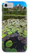 Bodnant House IPhone Case by Meirion Matthias