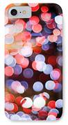 Bokeh IPhone Case by Setsiri Silapasuwanchai