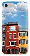 Boston Houses IPhone Case