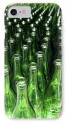 Bottles At A Wine Bottling Factory IPhone Case by Ria Novosti