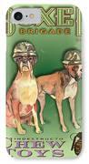 Boxer Brigade Chew Toys IPhone Case