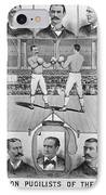 Boxing: American Champions IPhone Case by Granger