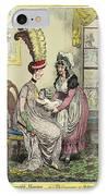 Breastfeeding, 18th-century Caricature IPhone Case
