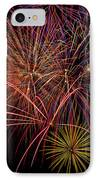 Bright Colorful Fireworks IPhone Case