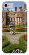 British Garden  IPhone Case by Adrian Evans